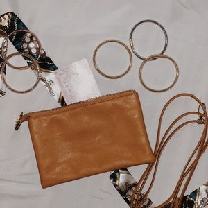 Gold Crossbody purse